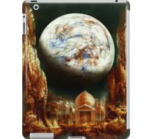 A City in Space, on a Moon the mass of Genemede... iPad Case/Skin
