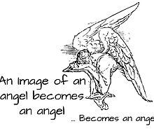Image of an angel by rebeccasliney