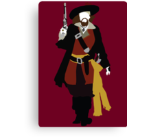 Captain Barbossa - Pirates of the Caribbean Canvas Print