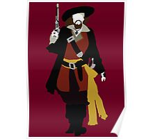 Captain Barbossa - Pirates of the Caribbean Poster