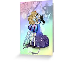 Dancing Under The Sea Greeting Card