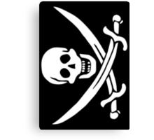 Life of Piracy - 'Calico' Jack Rackham Canvas Print