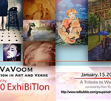 VaVoom show banner by solo-exhibition