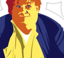 Fat Guy in a Little Coat Sticker