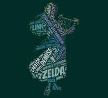 Skyward Sword Zelda Wordle 2 by LinkXavier