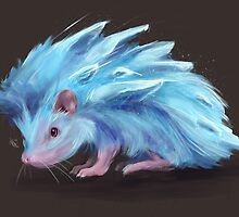 Ice Hedgehog by nicolealesart