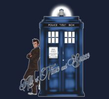 Doctor Who - All of Time and Space T-shirt by sugarpoultry