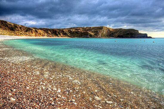 Lulworth Cove by English Landscape Prints