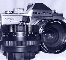 Retro SLR Film Camera by tomkav