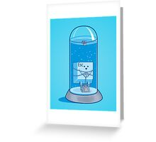 The Escape Artist Greeting Card