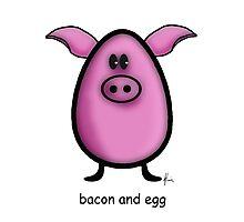 bacon & egg Photographic Print