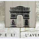 Arc De Triumphe, Paris by Claire McCall