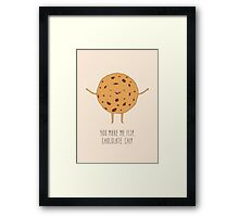 Chocolate Chip Cookie Framed Print