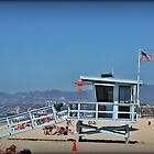 Venice Beach Lifeguard Station by Chris Roberts