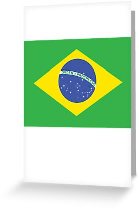 BRAZILIAN FLAG PURE & SIMPLE: Brazil Football & Olympics by TOM HILL - Designer