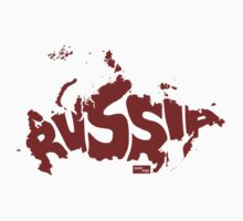 Russia Type Map (Red) by seanings