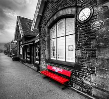 Ribblehead Station by English Landscape Prints