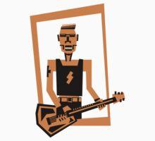 hard rock / heavy metal  guitar player by kislev