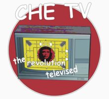 Che tv by IanByfordArt