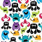Monster Pattern by mjdaluz