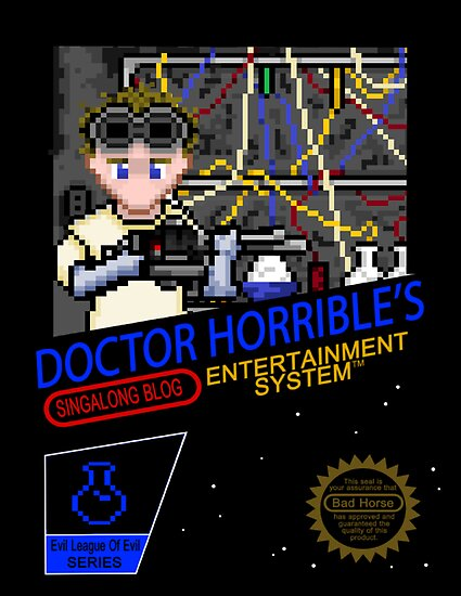 NINTENDO: NES DOCTOR HORRIBLE  by SilverHammer 37