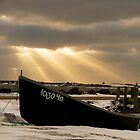 Sunset Skiff 2014 by Debbie  Roberts
