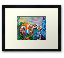 Worlds Away Framed Print