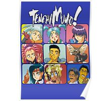 The Tenchi Bunch Poster
