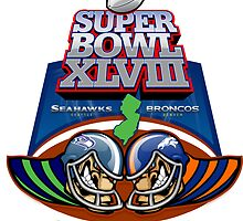 SUPER BOWL 2014 by Jimmy Rivera