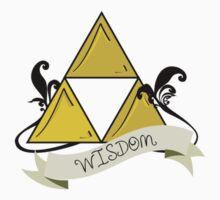 Triforce of Wisdom Tattoo by geekphoria