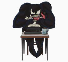 Venom: Ace Reporter by lucius0mega