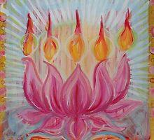 Lotus Fire by JulianaLachance