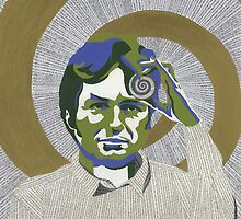 Richard Dawkins by Adrian Covert