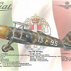 Fiat CR. 42 Falco by A. Hermann