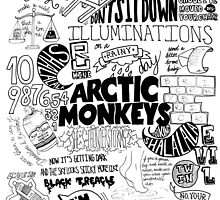 Arctic Monkeys Collage by alexxalex