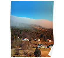 Clouds over the mountains | landscape photography Poster