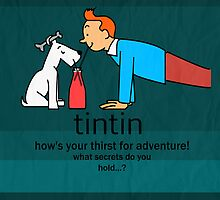 tintin by fhtamim