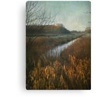 Claxton Marshes Canvas Print