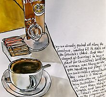 Coffee on Australia Day by Evelyn Bach