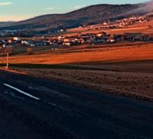 Find my way home | landscape photography Sticker