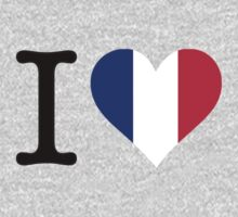 I Love France by artpolitic
