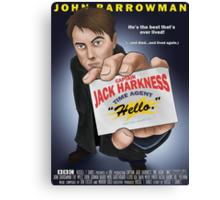Captain Jack Harkness - Time Detective Canvas Print
