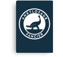 Ankylosaur Fancier Print Canvas Print