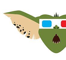 Gremlins Minimalist Series - Gremlin 3D by mistergamma