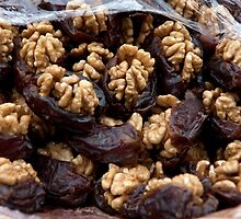 Dates And Walnuts by phil decocco