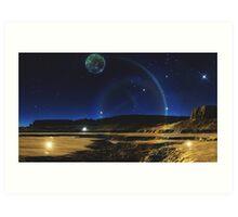 Halo Gate - Photonus Prime Art Print