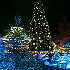 Disneyland Paris Christmas Tree by ThatDisneyLover