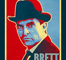 The Definitive Holmes - Brett (Card) by ifourdezign