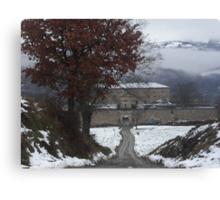 - OAKS   -  LA QUERCIA E IL SUO MULINO -----VETRINA RB EXPLORE 2014 ----ITALIA - MONDO - Canvas Print