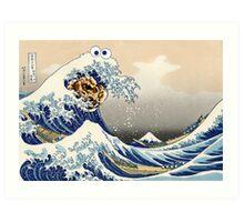 The Great Cookies off Kanagawa Art Print